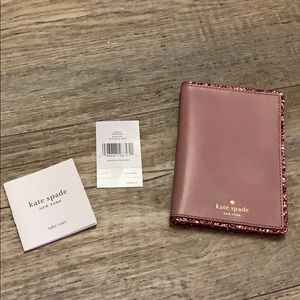 NWT AUTHENTIC KATE SPADE PASSPORT HOLDER